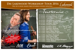 Video-Trailer zur Lakewood Workshop-Tour 2016 online