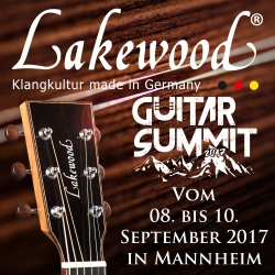 Lakewood Guitars auf der Guitar Summit 2017